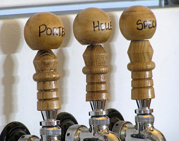 Tap Handles with Custom Tops