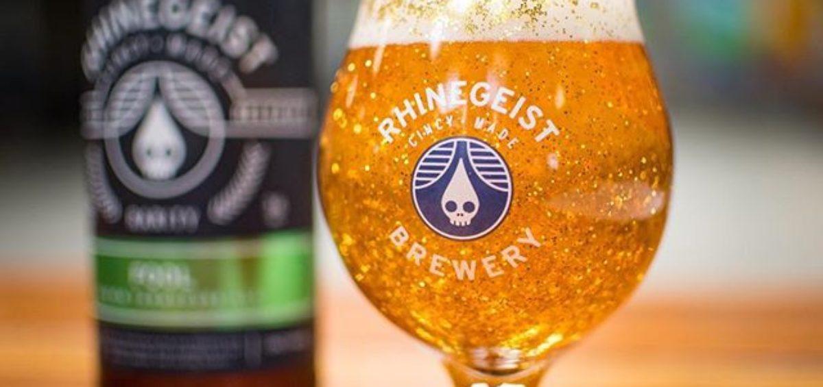 Rhinegeist Brewery Glass