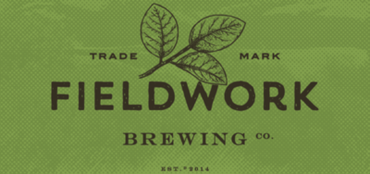 Fieldwork Brewing Company logo in green rectangle