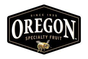 Oregon Specialty Fruit logo with honey bee