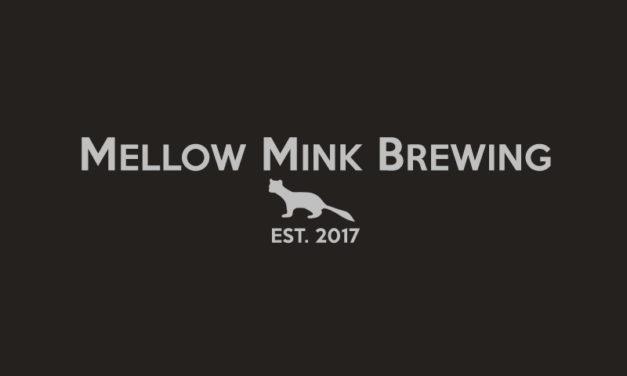 Mellow Mink Brewing logo on black