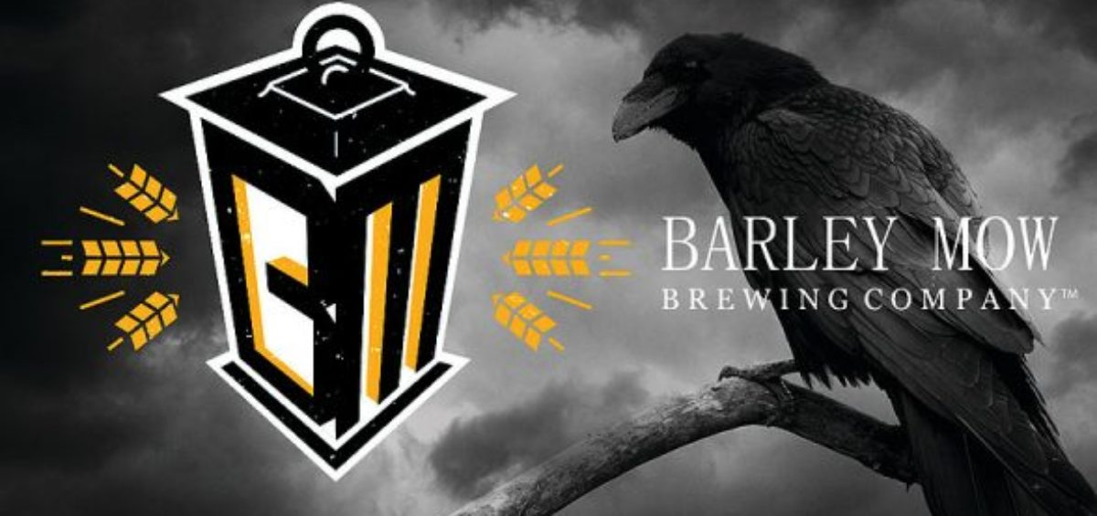 Barley Mow Brewing logo with crow