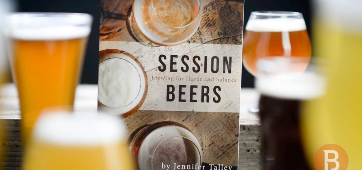 Session Beers book wth full beer glasses all around