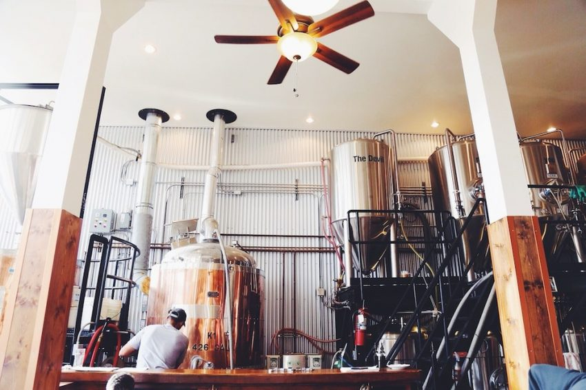 Phillipsburg Brewing Company brewhouse