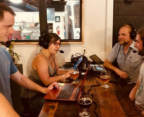 First Bikes + Beer Podcast with Logan Vonbokel, Linsey Cornish, Zach Yendra, and guest, Zach Wilson.
