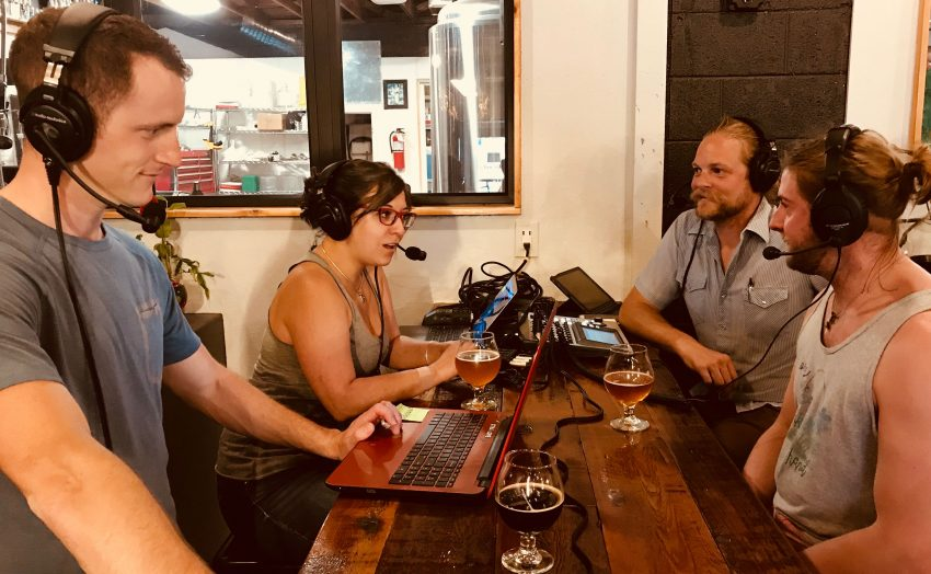 First Bikes + Beer Podcast with Logan Vonbokel, Linsey Cornish, Zach Yendra, and guest, Zach Wilson.