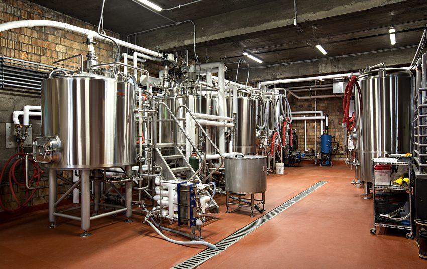 Bent Paddle Brewing Co. brewery