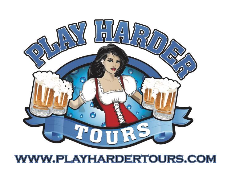 Play Harder Tours Logo