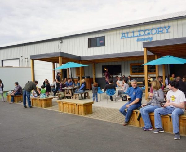 Allegory Brewing Patio