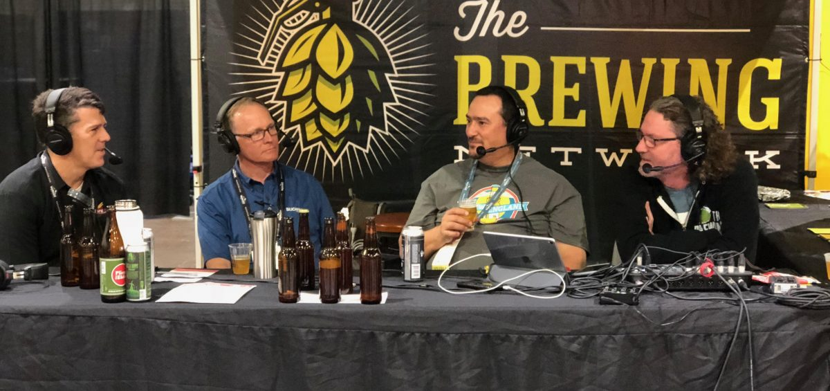 Brew Strong discusses all in one brew systems, live from homebrewcon