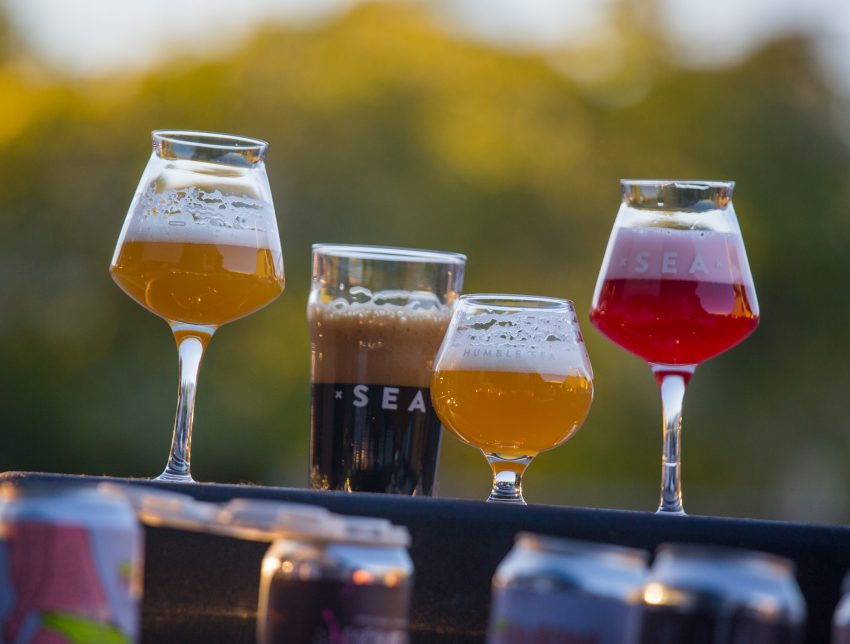 Humble Sea Brewing Company beer lineup