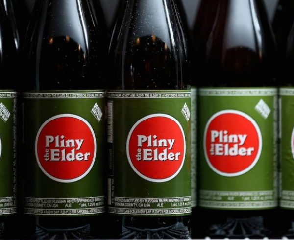 Pliny The Younger Bottles Simcoe hops