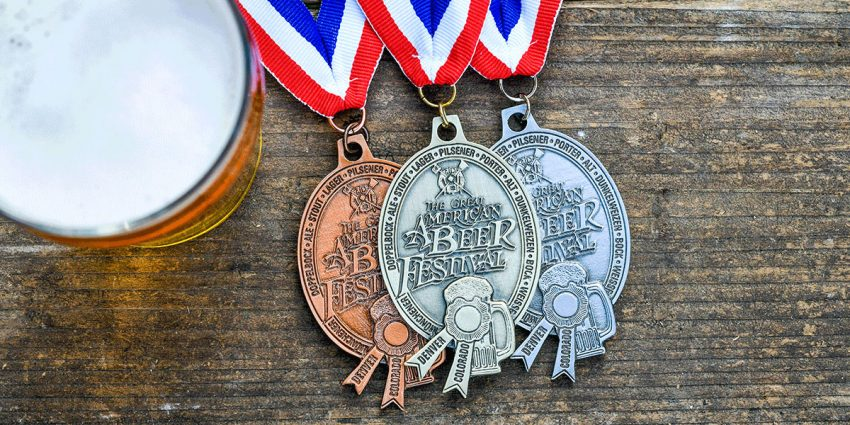 Medals for Great American Beer Festival 2021
