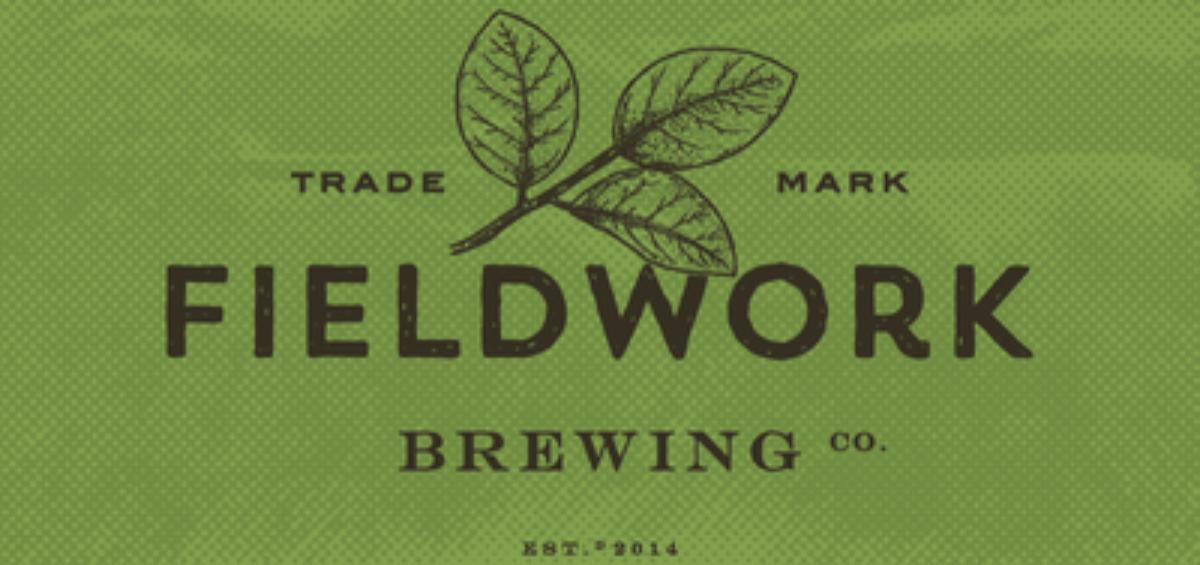 Fieldwork Brewing Company logo in green rectangle