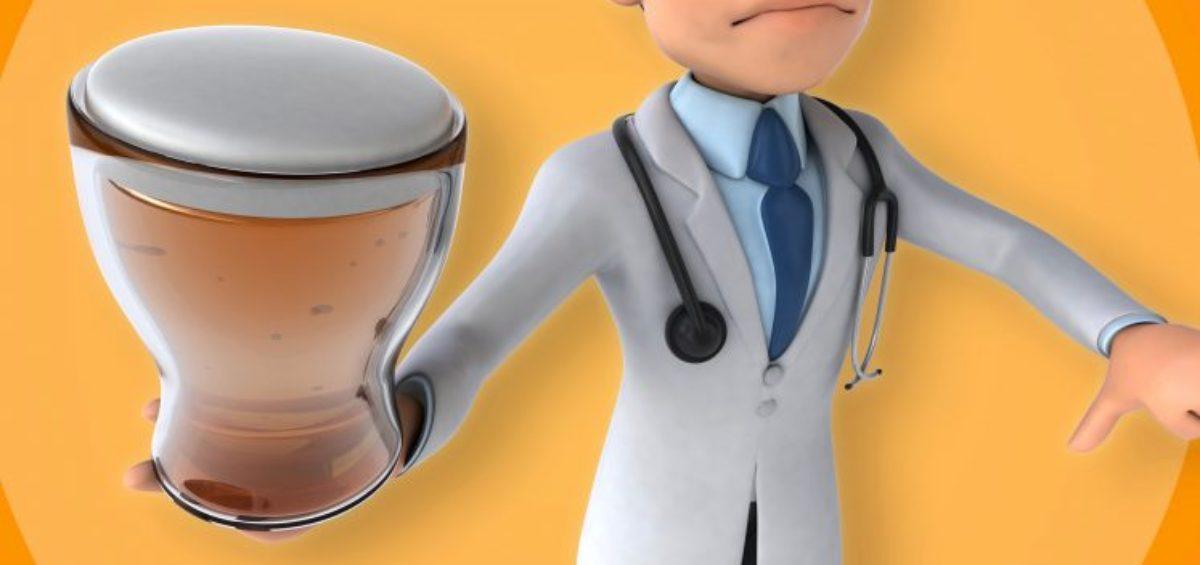 Dr. Homebrew beer doctor cartoon