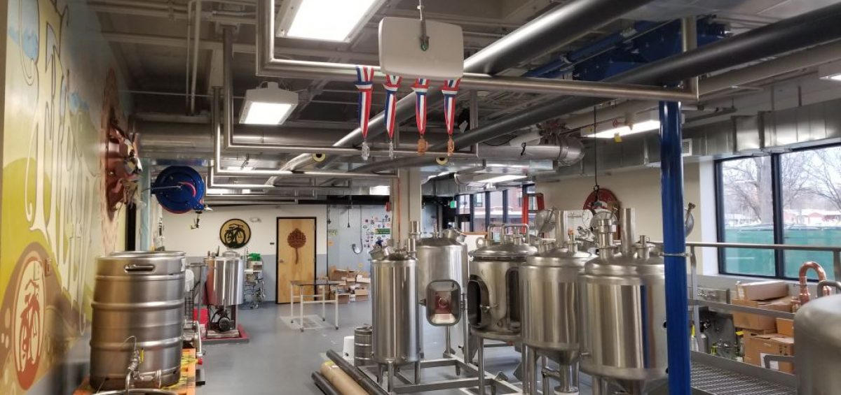 CSU Fermentation Science and Technology brewery