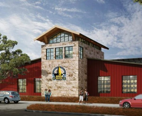 Russian River Brewing rendering of new production facility in Windsor, CA.