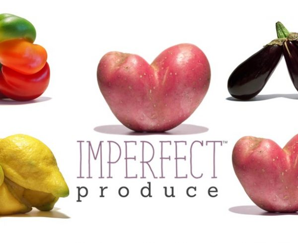 Imperfect Produce image with imperfect fruits and vegetables