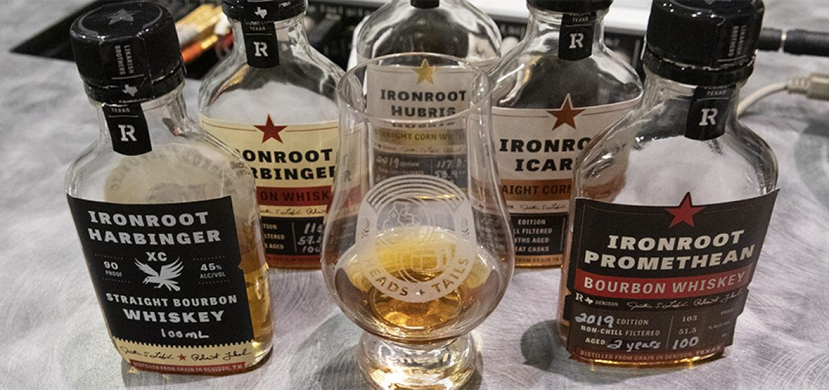 Ironroot Republic Distilling on Heads and Tails podcast