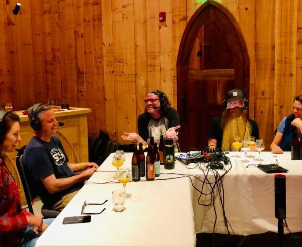 The Brewing Network, live from Russian River Brewing's Koelschip room