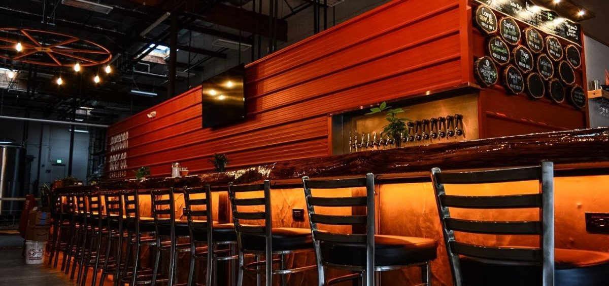 Burgeon Beer Company taproom and bar