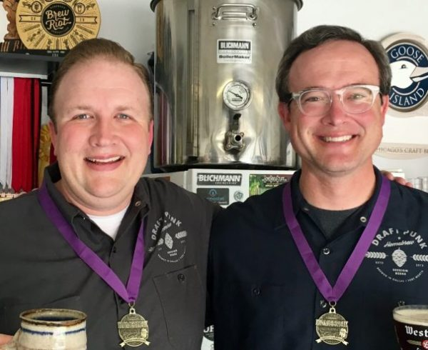 Homebrewing for competition with Ninkasi winners Nick McCoy and Jeff Peroit