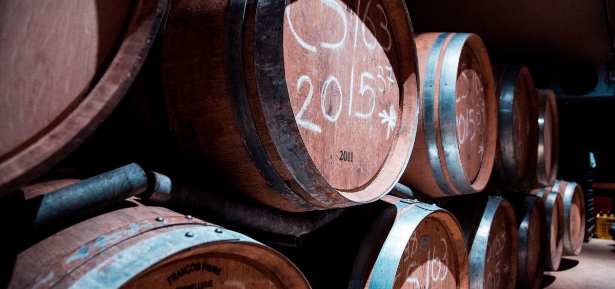 Barrel aging beer